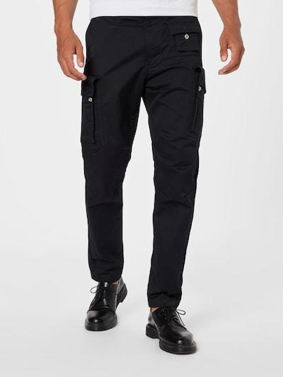 DIESEL Kargo bikses, krāsa - melns, Modeļa skats