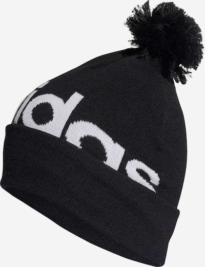 ADIDAS PERFORMANCE Athletic Hat in Black / White, Item view