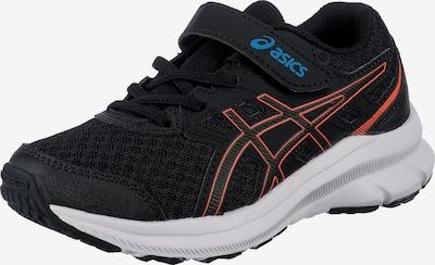 ASICS Chaussure de sport 'CONTEND GS' en bleu cyan / orange / noir, Vue avec produit