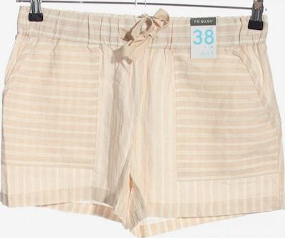 Primark Shorts in M in creme / weiß, Produktansicht