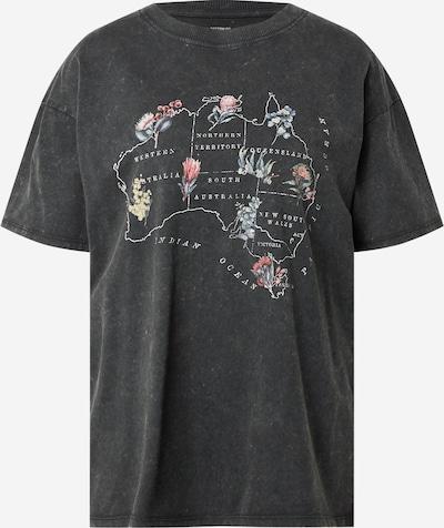 Cotton On T-shirt en mélange de couleurs / noir, Vue avec produit