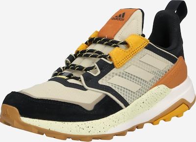 ADIDAS PERFORMANCE Chaussure basse 'TERREX' en beige / marron / jaune / noir, Vue avec produit