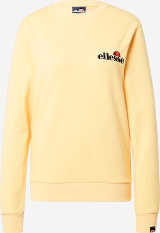 ELLESSE Sweatshirt 'Triome' i gul