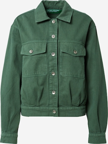 UNITED COLORS OF BENETTON Between-Season Jacket in Green