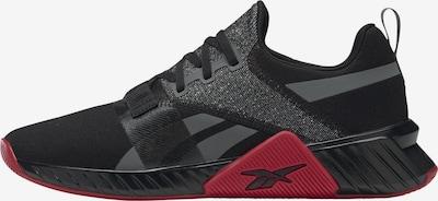 Reebok Sport Sportschuh 'Flashfilm Train 2' in grau / rot / schwarz, Produktansicht