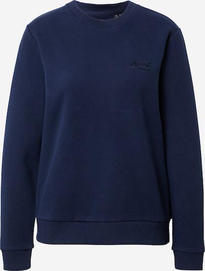 Superdry Sweatshirt in blau, Produktansicht