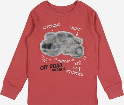 OshKosh Shirt in grau / taupe / hummer / schwarz / weiß, Produktansicht