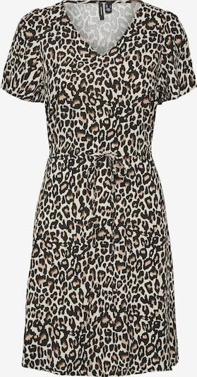 VERO MODA Kleid 'Simply Easy' in hellbeige / braun / anthrazit / weiß, Produktansicht