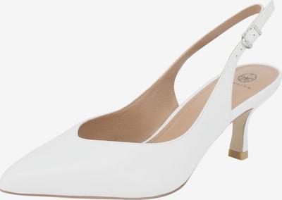 Ekonika Slingpumps in weiß, Produktansicht