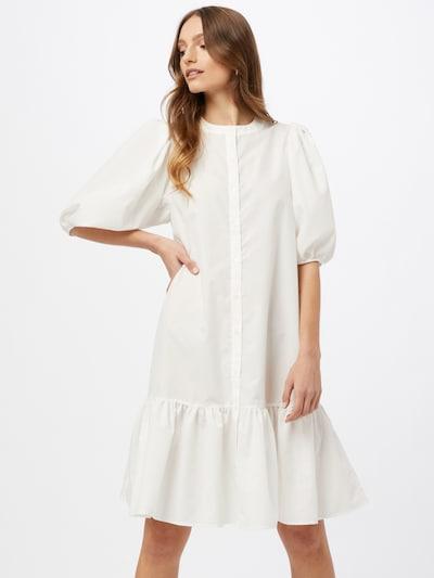 Gina Tricot Kleid 'Slogan' in weiß, Modelansicht