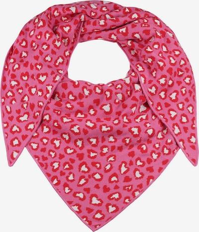 Zwillingsherz Masque en tissu en rose / rouge / blanc, Vue avec produit