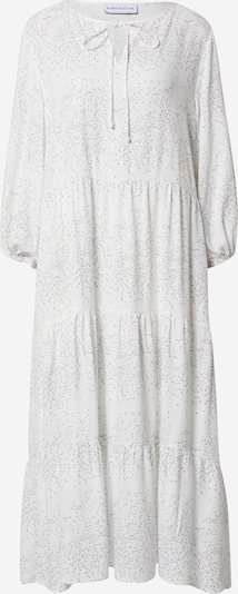 Karo Kauer Robe en gris / blanc, Vue avec produit