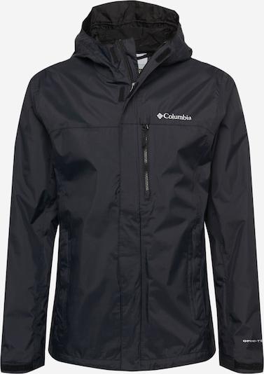 COLUMBIA Veste de sport 'Pouring Adventure' en noir / blanc, Vue avec produit