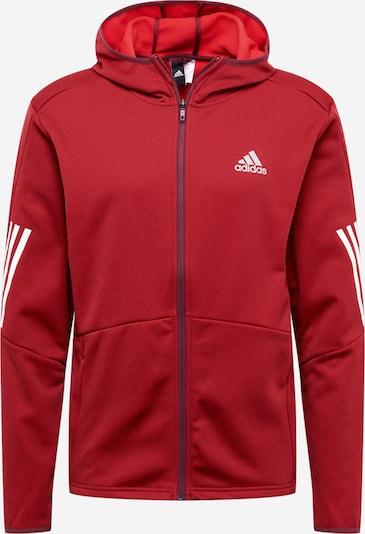 ADIDAS PERFORMANCE Sportsweatvest in de kleur Grijs / Rood / Zwart / Wit, Productweergave