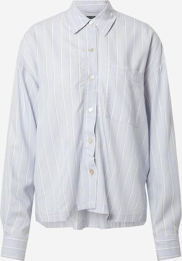Marc O'Polo Bodywear Schlafshirt in hellblau / weiß, Produktansicht