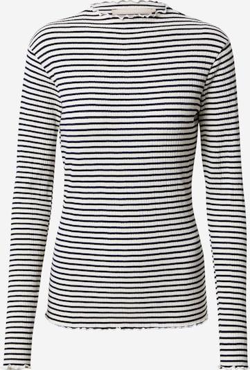 KAREN BY SIMONSEN Shirt 'Candacekb' in nachtblau / weiß, Produktansicht
