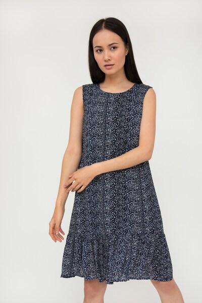 Finn Flare Sommerkleid in blau, Modelansicht