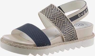 bugatti bugatti Sandalette in beige / blau, Produktansicht