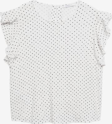Bluză 'Julieta' de la MANGO pe alb