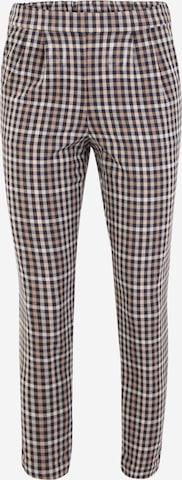 Vila Petite Pleat-Front Pants 'TITTI' in Mixed colors