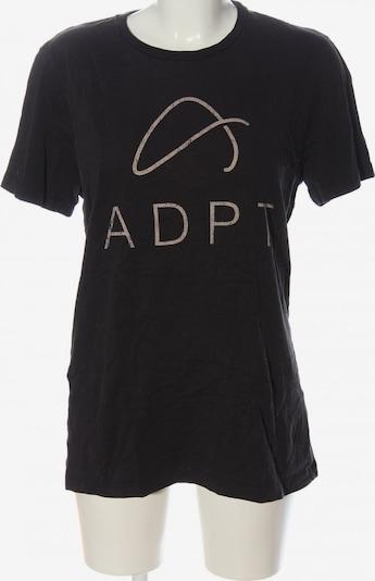 ADPT. T-Shirt in M in schwarz / wollweiß, Produktansicht