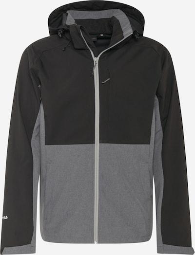 ICEPEAK Chaqueta de montaña 'BASSUM' en gris moteado / negro, Vista del producto
