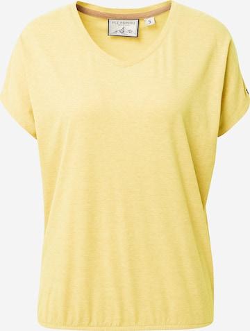 Fli Papigu Shirt 'The Choices we make' in Yellow