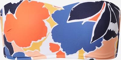 Sutien costum de baie 'Marina' Seafolly pe albastru / bleumarin / portocaliu / corai / alb, Vizualizare produs