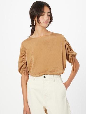 Camicia da donna di s.Oliver in marrone