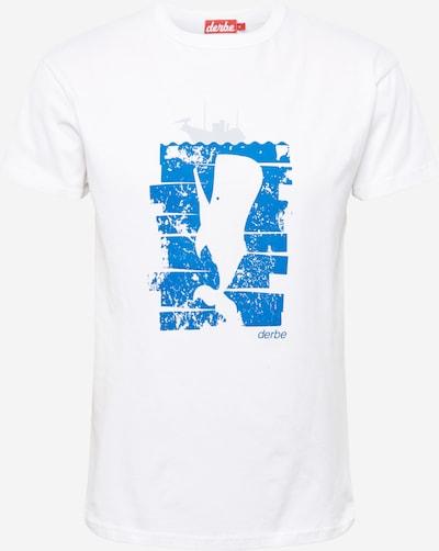 Derbe T-Shirt 'Whaler' en bleu / blanc, Vue avec produit