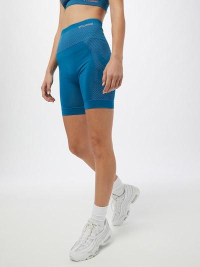 Hummel Sportske hlače 'Felicity' u kraljevsko plava / roza, Prikaz modela