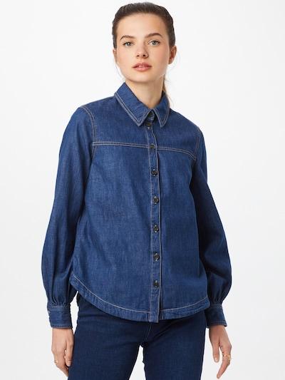 Bluză s.Oliver pe albastru denim, Vizualizare model