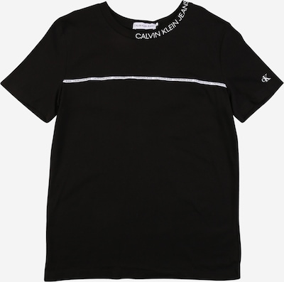 Calvin Klein Jeans Tričko - černá / bílá, Produkt