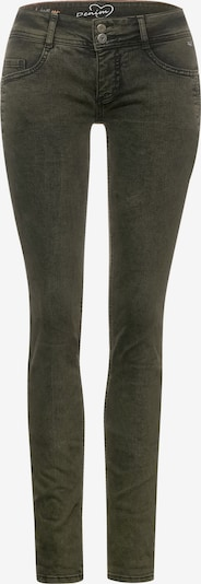 STREET ONE Jeans 'Crissi' in dunkelgrün, Produktansicht