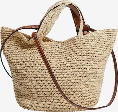 MANGO Tasche in beige, Produktansicht