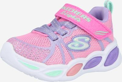 SKECHERS Sneaker in türkis / lila / rosa: Frontalansicht