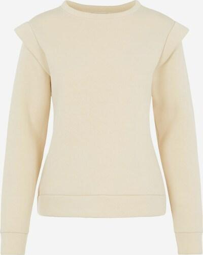 PIECES Sweatshirt in creme, Produktansicht