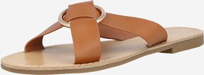 GLAMOROUS Pantolette in sand, Produktansicht