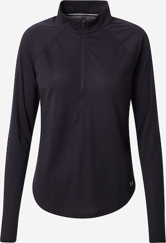 UNDER ARMOUR Funksjonsskjorte 'Streaker' i svart