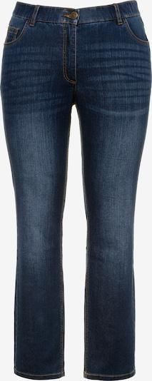 Ulla Popken Jeans in de kleur Blauw denim, Productweergave