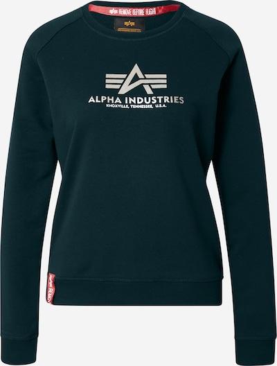 ALPHA INDUSTRIES Sweatshirt in de kleur Donkergroen, Productweergave