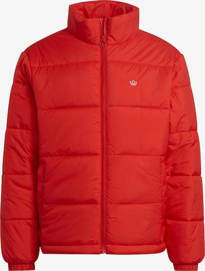 Geacă de iarnă ADIDAS ORIGINALS pe roșu orange / alb, Vizualizare produs