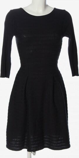 REKEN MAAR Strickkleid in S in schwarz, Produktansicht