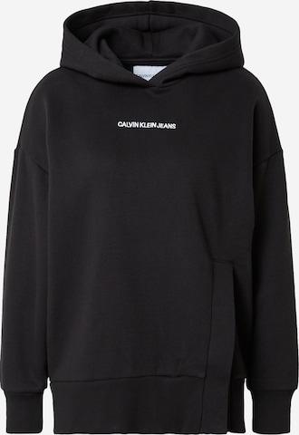 Calvin Klein Jeans Dressipluus 'Shadow', värv must