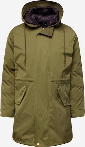 SAND COPENHAGEN Between-season jacket 'Victor' in Green