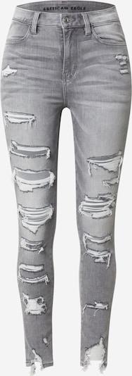 Jeans American Eagle pe gri denim, Vizualizare produs