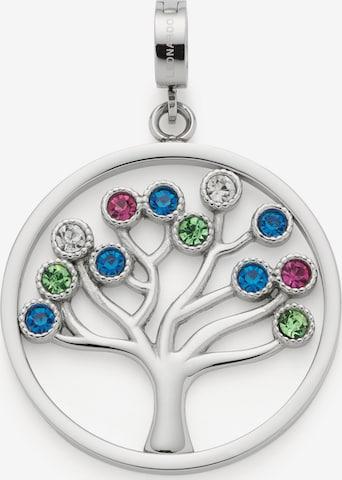LEONARDO Leonardo Damen-Anhänger Edelstahl Glasstein ' ' in Silber