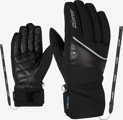 ZIENER Fingerhandschuhe 'KAIKA AS(R) AW' in schwarz, Produktansicht