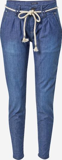 Stitch and Soul Buktēti džinsi, krāsa - zils džinss, Preces skats