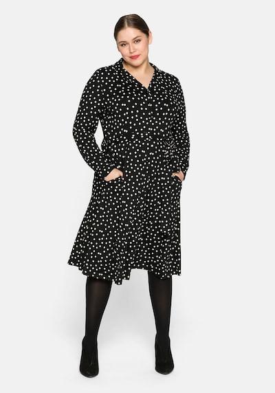 SHEEGO Košilové šaty - černá, Model/ka